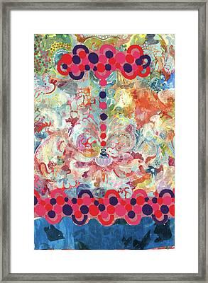 The Beginning Framed Print by Gloria Von Sperling