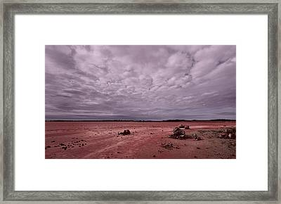 The Beginning I I I Framed Print by Julian Cook