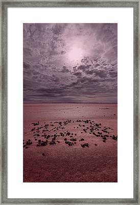 The Beginning I V Framed Print by Julian Cook