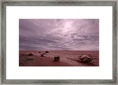 The Beginning Framed Print by Julian Cook