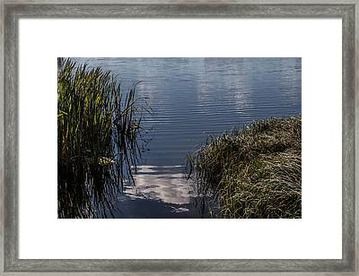 Framed Print featuring the photograph The Beginning by Odd Jeppesen