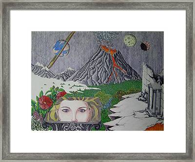The Beginning Of The End Framed Print by Joshua Armstrong