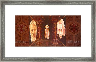 The Beginning Of The World Framed Print by Romeo Niram