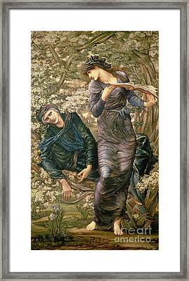 The Beguiling Of Merlin Framed Print