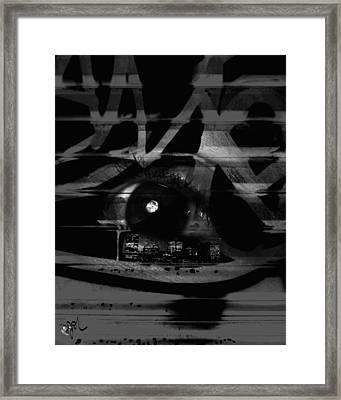 The Beholder Framed Print