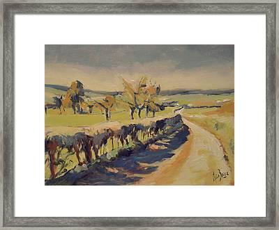 The Bellet Orchard Framed Print