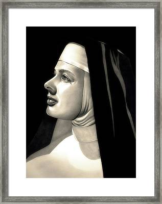 The Bell's Of St. Mary's  Framed Print by Fred Larucci