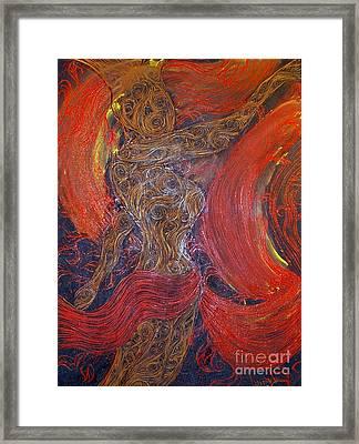 The Belly Dancer Framed Print