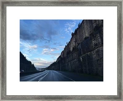 The Bend Framed Print by Daniel Sparks