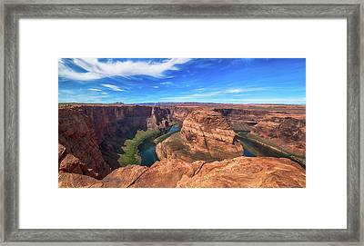 The Bend Framed Print