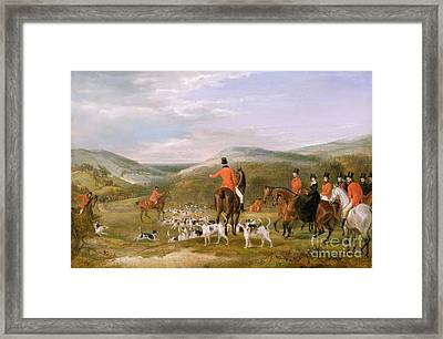 The Berkeley Hunt Framed Print