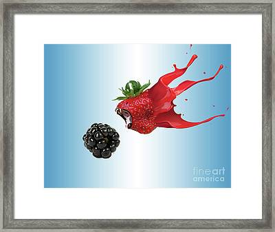 The Berries Framed Print by Juli Scalzi