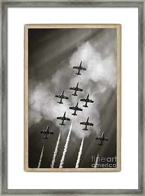 The Best Aerobatic Team Framed Print