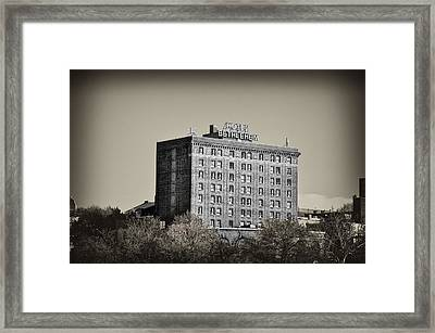 The Bethlehem Hotel Framed Print by Bill Cannon
