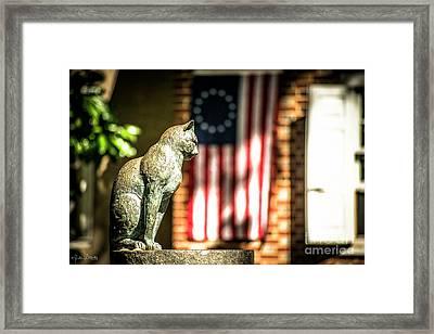 The Betsy Ross Flag Framed Print by Julian Starks