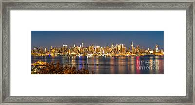 The Big Apple Framed Print by Abe Pacana
