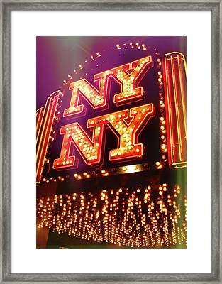 The Big Apple Framed Print by JAMART Photography
