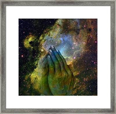 The Big Bang  Two Framed Print by Evelyn Patrick