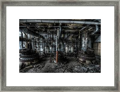 Framed Print featuring the digital art The Big Experiment  by Nathan Wright