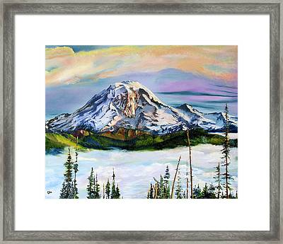 The Big Fella Framed Print