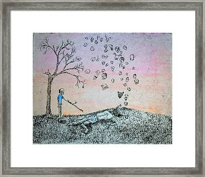 The Big Find Framed Print