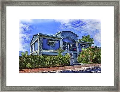 The Big House Framed Print