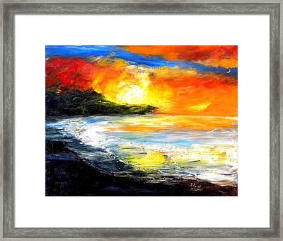 The Big Island Framed Print by David McGhee