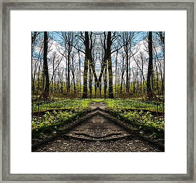 The Big M Framed Print