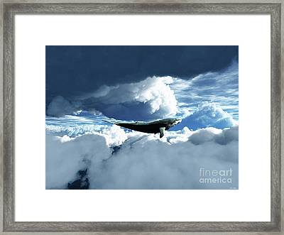 The Big Move Framed Print by Eric Nagel