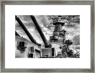 The Big Nc Framed Print
