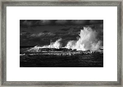The Big One Framed Print