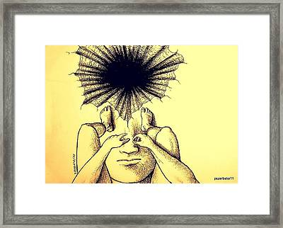 The Big Questions Framed Print by Paulo Zerbato