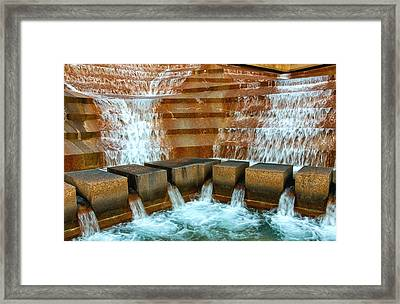 The Big Rush Framed Print by Rachel Cohen
