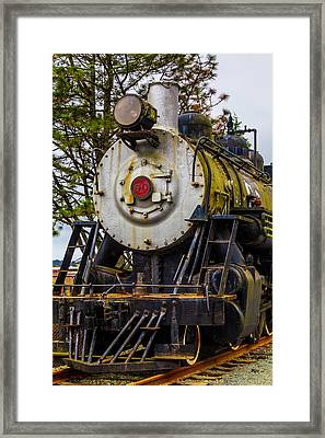 The Big Southern Pacific Lines Engine 90 Framed Print by Garry Gay