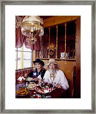 The Big Texan Restaurant, Amarillo, Texas Framed Print
