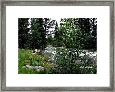 The Big Thompson Framed Print