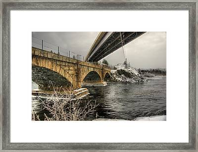 The Big Three Framed Print by Tingy Wende