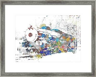 The Big Train Framed Print