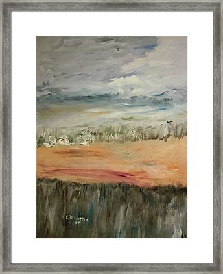 The Big Valley Framed Print by Edward Wolverton