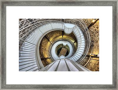 Framed Print featuring the photograph The Big Well by JC Findley