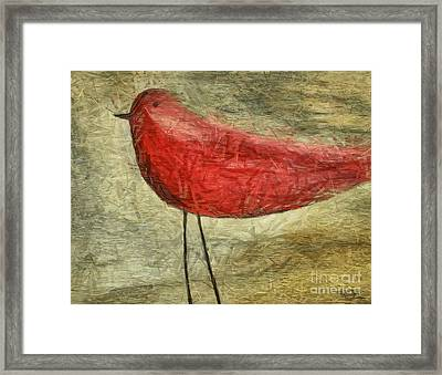 The Bird - Ft06 Framed Print by Variance Collections