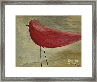 The Bird - Original Framed Print by Variance Collections