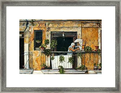 The Bird Cage, Cuba Framed Print