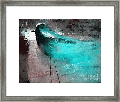 The Bird - J052143191gr Framed Print by Variance Collections