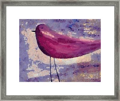 The Bird - K0912b Framed Print