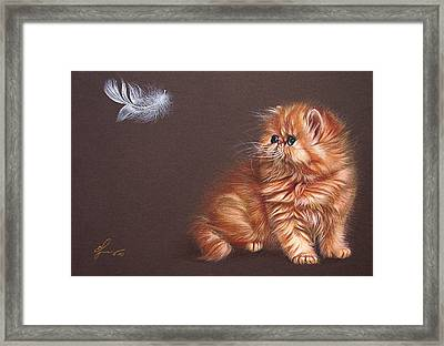 The Bird Lover Framed Print
