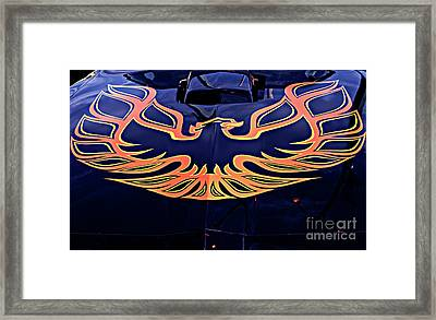 The Bird - Pontiac Trans Am Framed Print by Jane Eleanor Nicholas