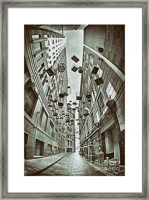 The Birdcages - Sydney - Australia Framed Print by Bryan Freeman