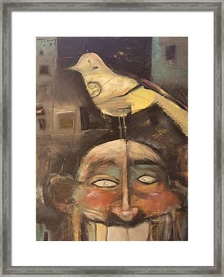 The Birdman Of Alcatraz Framed Print