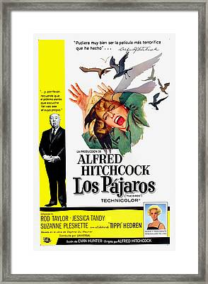 The Birds, Aka Los Pajaros, Alfred Framed Print